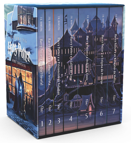Harry Potter Série Completa Rocco1